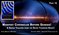 THE SEVEN THUNDERS BEFORE GENESIS - PART 15