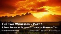 THE TWO WITNESSES - PART 1